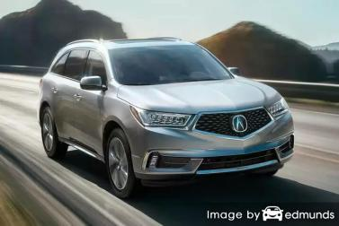 Discount Acura MDX insurance