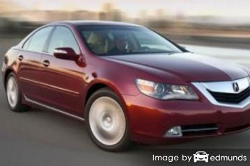 Insurance quote for Acura RL in Tucson