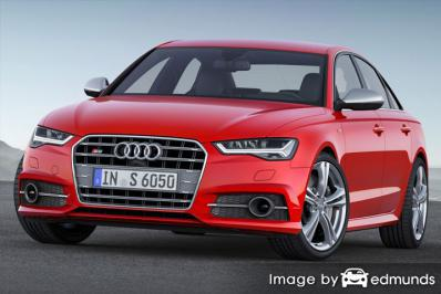 Insurance quote for Audi S6 in Tucson