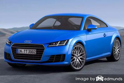 Insurance quote for Audi TTS in Tucson