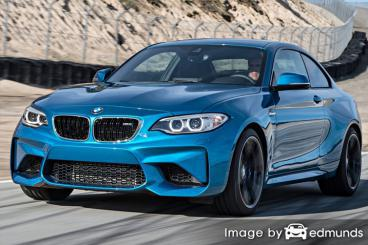 Insurance quote for BMW M2 in Tucson