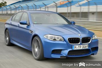 Insurance quote for BMW M5 in Tucson