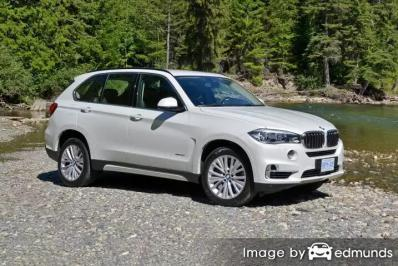 Insurance quote for BMW X5 in Tucson