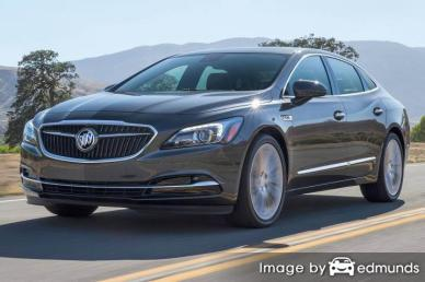 Insurance rates Buick LaCrosse in Tucson