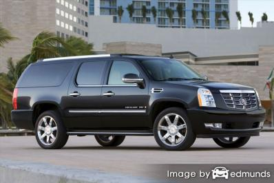 Insurance quote for Cadillac Escalade ESV in Tucson