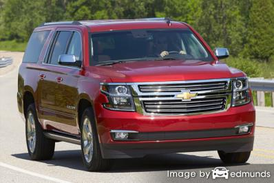 Insurance quote for Chevy Suburban in Tucson