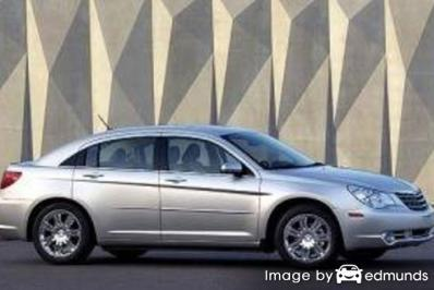 Discount Chrysler Sebring insurance