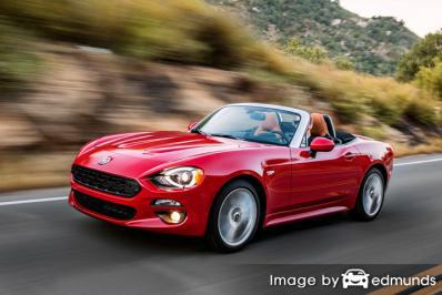 Insurance for Fiat 124 Spider