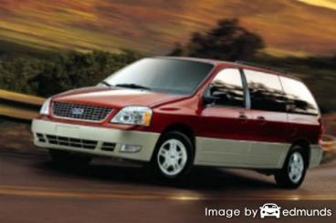 Insurance rates Ford Freestar in Tucson