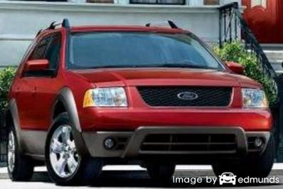 Insurance rates Ford Freestyle in Tucson