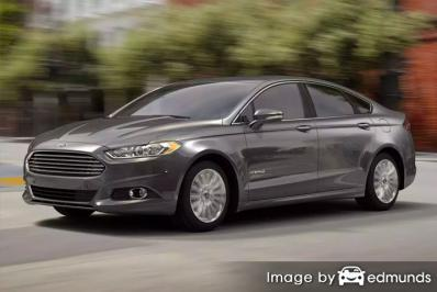 Insurance for Ford Fusion Hybrid