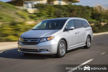 Insurance rates Honda Odyssey in Tucson