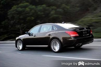 Insurance rates Hyundai Equus in Tucson