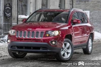 Insurance quote for Jeep Compass in Tucson