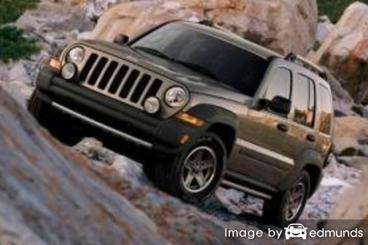 Insurance quote for Jeep Liberty in Tucson