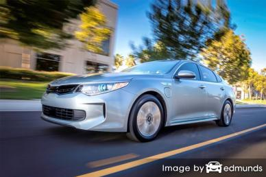 Discount Kia Optima Plug-In Hybrid insurance