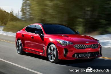 Insurance quote for Kia Stinger in Tucson