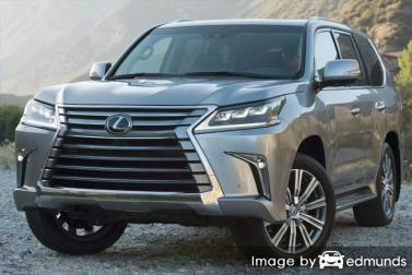Insurance quote for Lexus LX 570 in Tucson