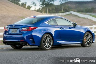 Insurance quote for Lexus RC 200t in Tucson