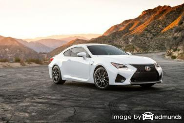 Insurance quote for Lexus RC F in Tucson