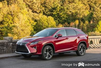 Insurance quote for Lexus RX 450h in Tucson