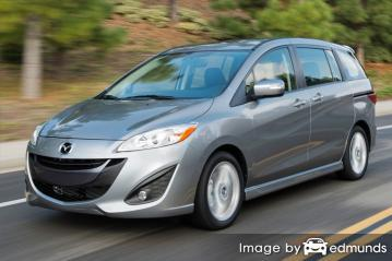 Insurance quote for Mazda 5 in Tucson