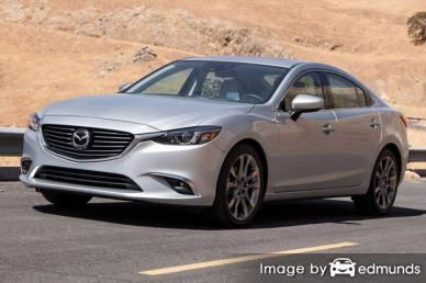 Insurance rates Mazda 6 in Tucson