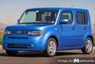 Insurance quote for Nissan cube in Tucson