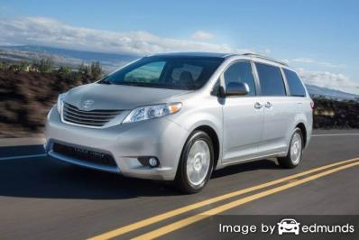 Insurance for Toyota Sienna