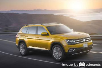 Insurance rates Volkswagen Atlas in Tucson