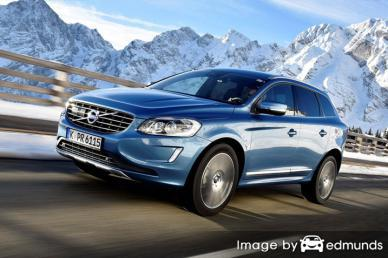 Insurance rates Volvo XC60 in Tucson